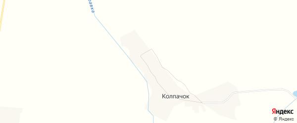 Карта деревни Колпачка в Брянской области с улицами и номерами домов