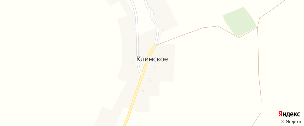 Садовая улица на карте Клинского села с номерами домов