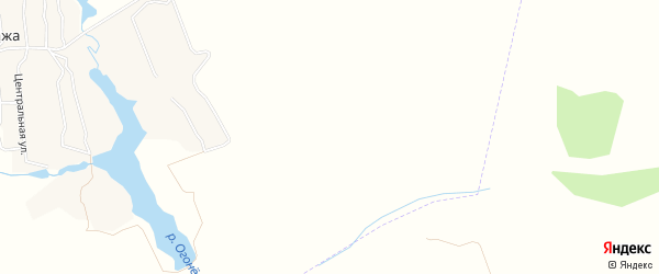 Карта железнодорожной казармы Казармы в Брянской области с улицами и номерами домов