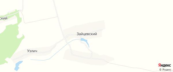 Карта Зайцевского поселка в Брянской области с улицами и номерами домов