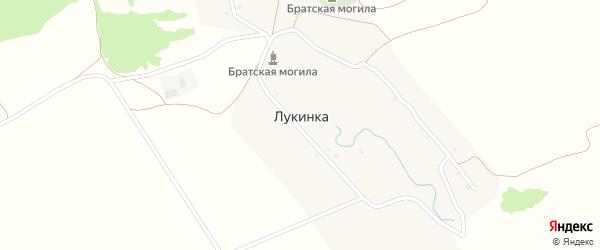 Лукинская улица на карте села Лукинки с номерами домов
