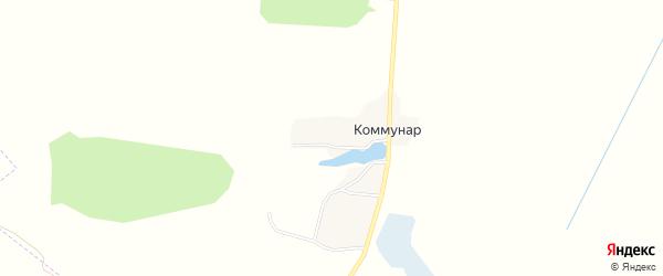 Карта поселка Коммунара в Брянской области с улицами и номерами домов