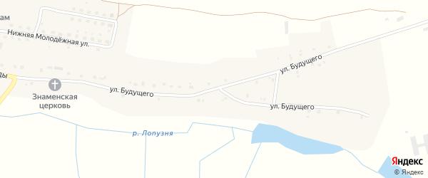 Улица Будущего на карте села Добрика с номерами домов