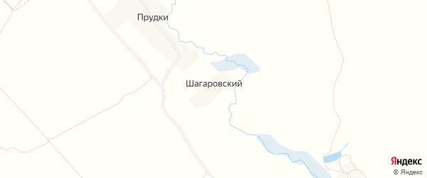 Карта Шагаровского поселка в Брянской области с улицами и номерами домов