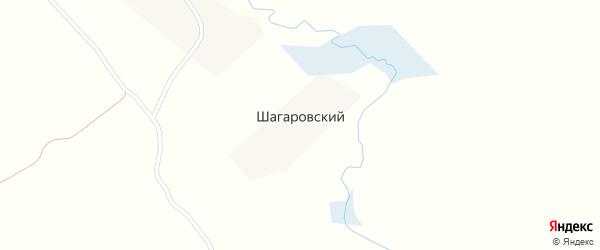 Шагаровская улица на карте Шагаровского поселка с номерами домов