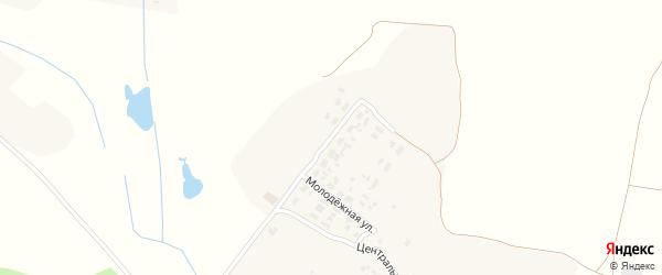Молодежная улица на карте Гремячего села с номерами домов