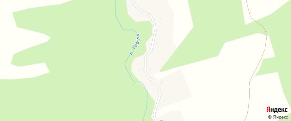 Луговая улица на карте поселка Буды с номерами домов