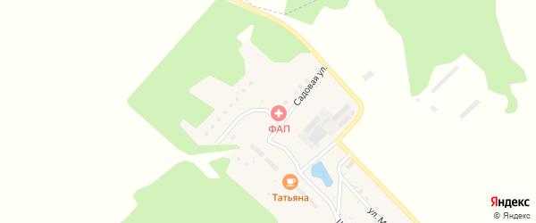 Садовая улица на карте поселка Владимировки с номерами домов