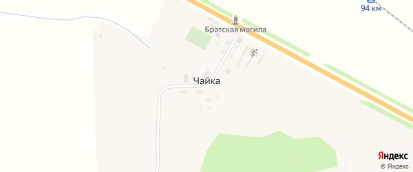 Территория сдт Чайка на карте Карачева с номерами домов