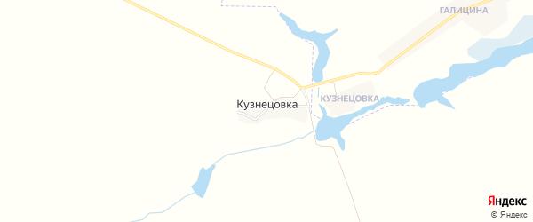Карта поселка Кузнецовки в Брянской области с улицами и номерами домов