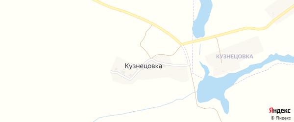 Озерная улица на карте поселка Кузнецовки с номерами домов
