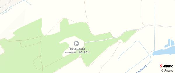 Карта деревни Малой Осиновки в Брянской области с улицами и номерами домов