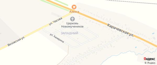 Улица Кучерова на карте Карачева с номерами домов