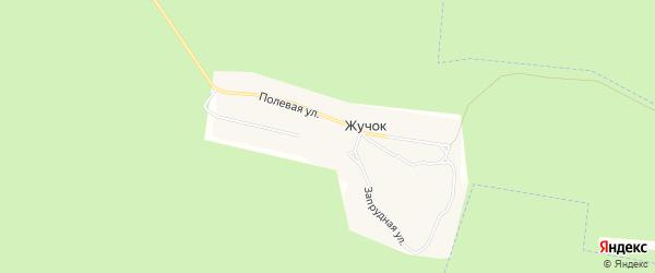 Карта поселка Жучка в Брянской области с улицами и номерами домов