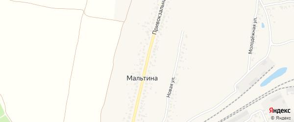 Привокзальная улица на карте Карачева с номерами домов