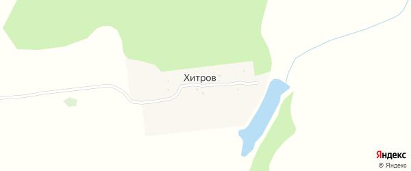 Майская улица на карте поселка Хитрова с номерами домов