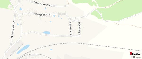 Полевая улица на карте Карачева с номерами домов