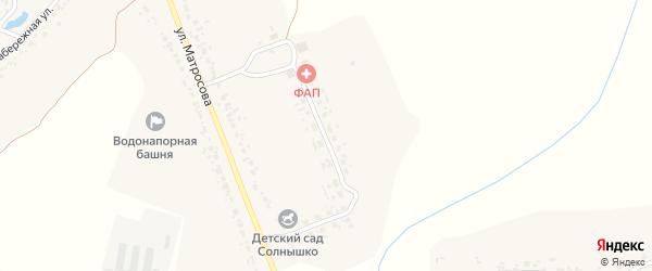 Молодежная улица на карте деревни Вишневки с номерами домов