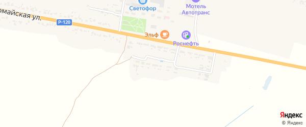 Полевая улица на карте деревни Масловки с номерами домов