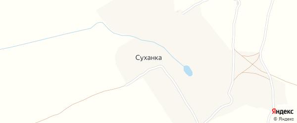 Совхозная улица на карте деревни Суханки с номерами домов