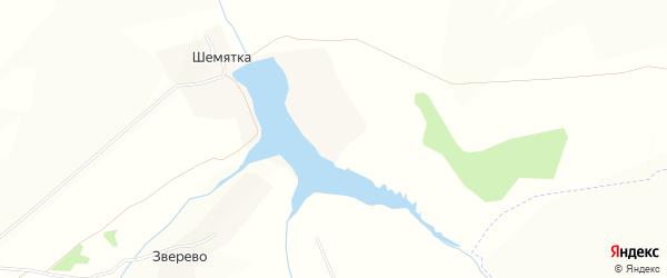 Карта деревни Шемятки в Брянской области с улицами и номерами домов