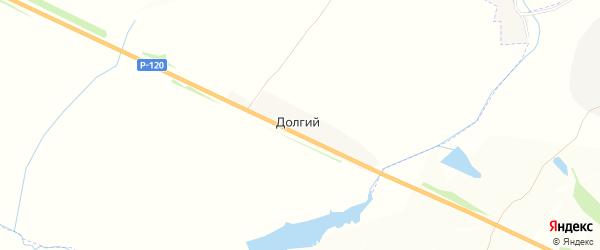 Карта Долгого поселка в Брянской области с улицами и номерами домов