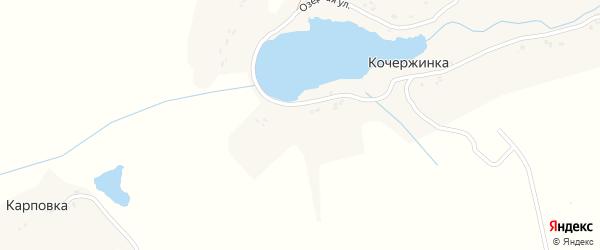 Озерная улица на карте деревни Кочержинки с номерами домов