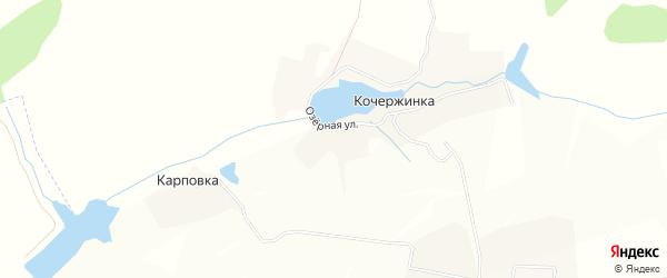 Карта деревни Кочержинки в Брянской области с улицами и номерами домов