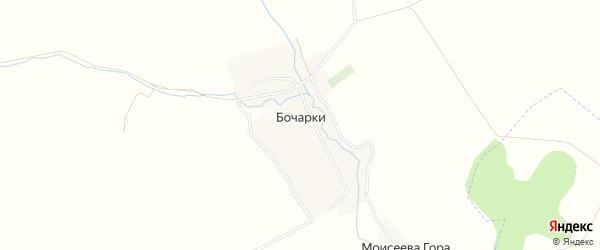 Карта села Бочарки в Брянской области с улицами и номерами домов
