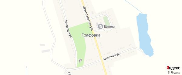 Улица Братьев Дмитренко на карте села Графовки с номерами домов