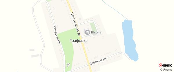 Школьная улица на карте села Графовки с номерами домов