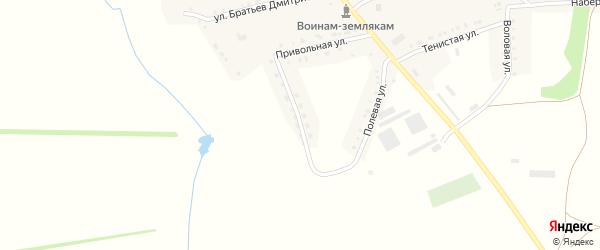 Молодежная улица на карте села Графовки с номерами домов