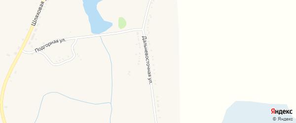 Дальневосточная улица на карте села Репяховки с номерами домов
