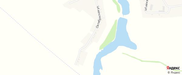Октябрьская улица на карте Вязового села с номерами домов