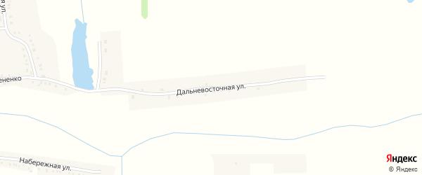 Дальневосточная улица на карте Вязового села с номерами домов
