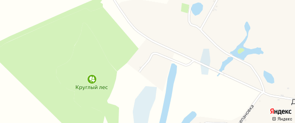 Улица Пятихатки на карте села Дунайки с номерами домов