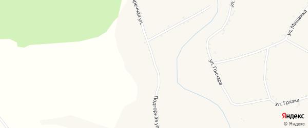 Заречная улица на карте села Дунайки с номерами домов