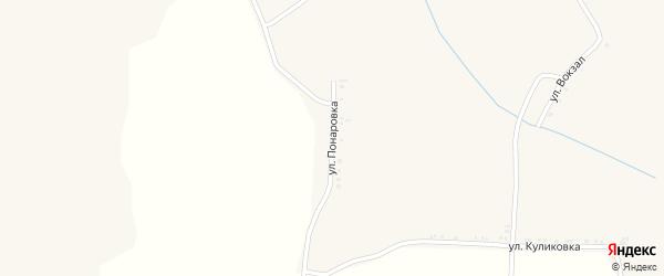 Улица Понаровка на карте села Илека-Пеньковки с номерами домов