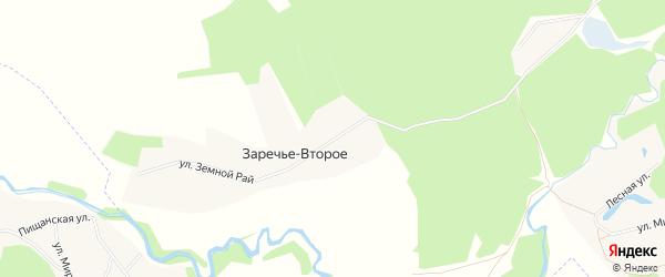 Карта Заречья-Второго села в Белгородской области с улицами и номерами домов