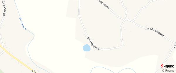 Улица Перовка на карте села Санково с номерами домов