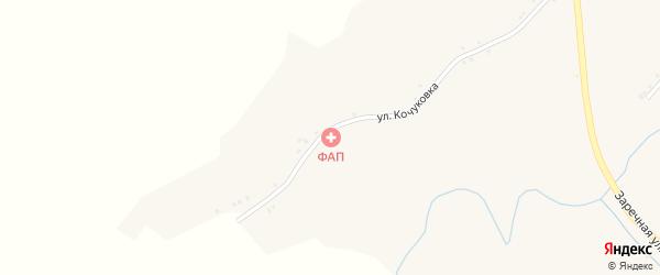 Улица Кононеровка на карте села Косилово с номерами домов