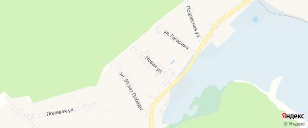 Новая улица на карте Доброго села с номерами домов