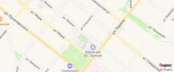 Улица Ленина на карте Грайворона с номерами домов