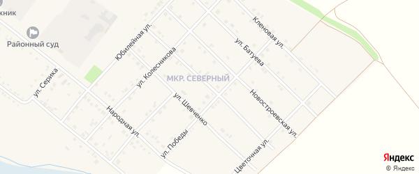 Улица Холода на карте Грайворона с номерами домов