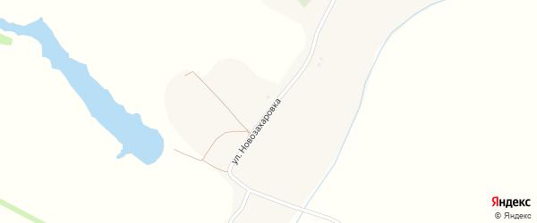 Улица Новозахаровка на карте села Новозахаровки с номерами домов