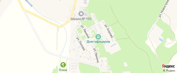 Улица Ленина на карте городка Белгорода-22 с номерами домов