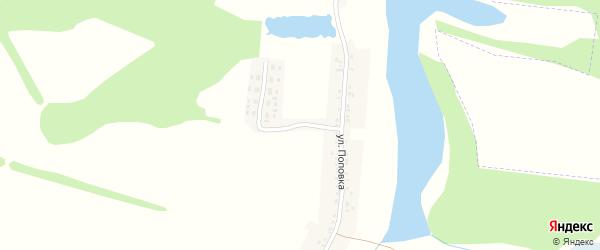 Новосадовая улица на карте села Борисполья с номерами домов