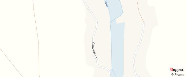 Садовая улица на карте Солдатского села с номерами домов