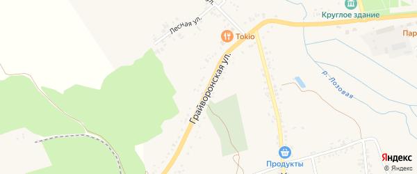 Грайворонская улица на карте села Головчино с номерами домов
