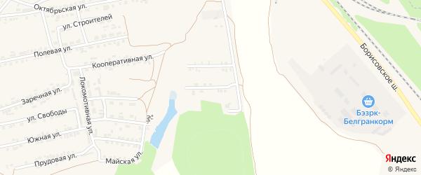 Улица Первопроходцев на карте Пролетарского поселка с номерами домов